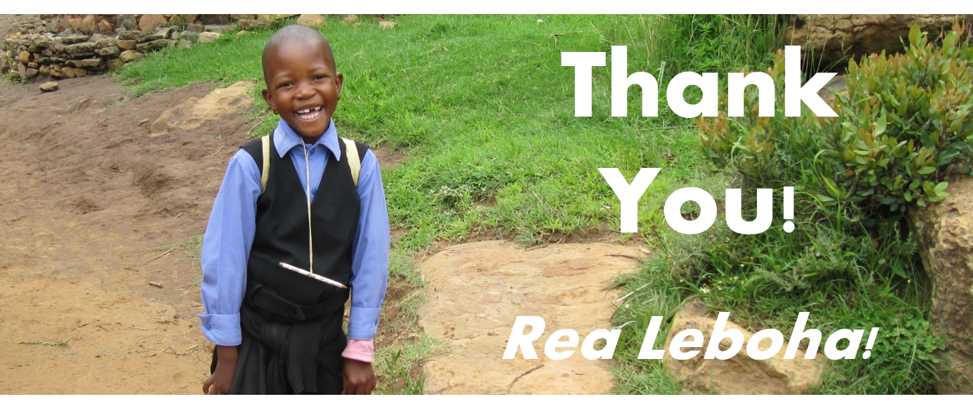 Rea thanks you for your choice to donate to a charity in Africa