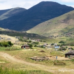 typical village in Lesotho