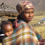 Blankets are an important part of Basotho culture