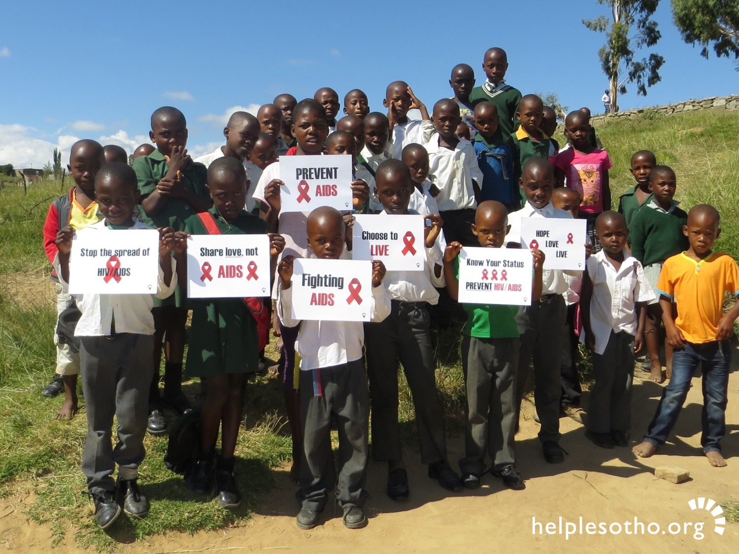 Lesotho has the world's 2nd highest HIV incidence rate