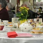 The Go Grannies Go (Toronto, ON) hosted a fun tea that included a presentation by author Terry Fallis.