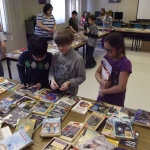 Parkwood Heights Elementary School in Bathurst, New Brunswick hosted a used book sale this year to promote literacy and raise funds for students in Lesotho!