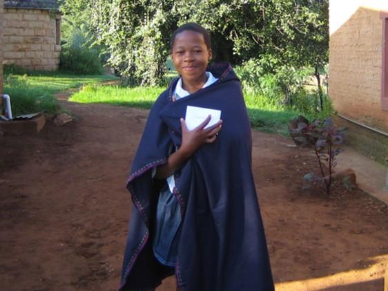 sponsor a child program graduate