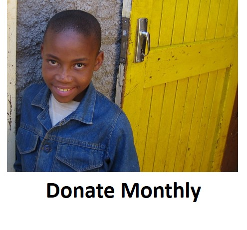 donate to a charity in Africa monthly