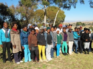 Out of school training helps support leadership development in Lesotho