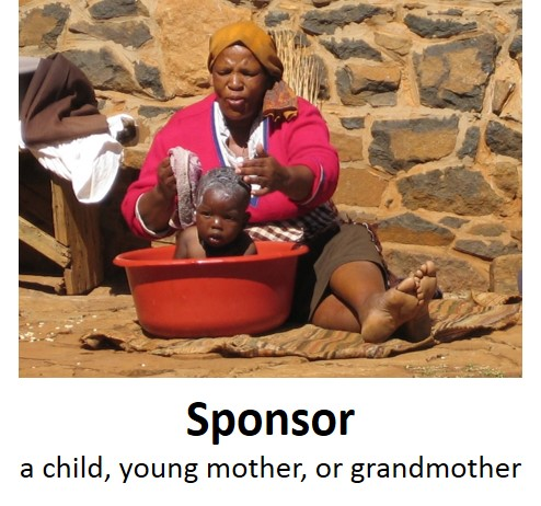 sponsor a child sponsor a grandmother