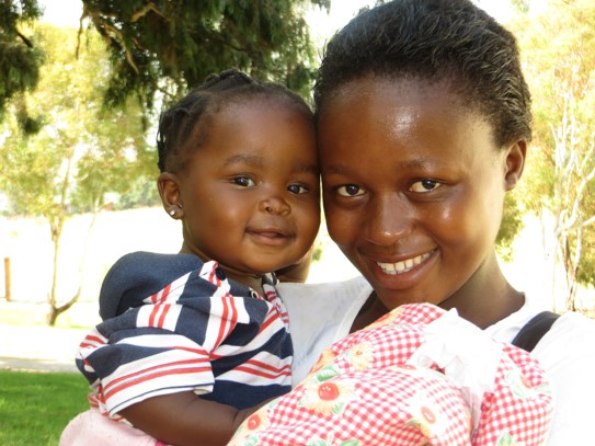 sponsor a young mother