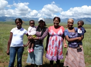 Young mother support program in lesotho