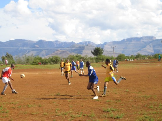 about lesotho soccer