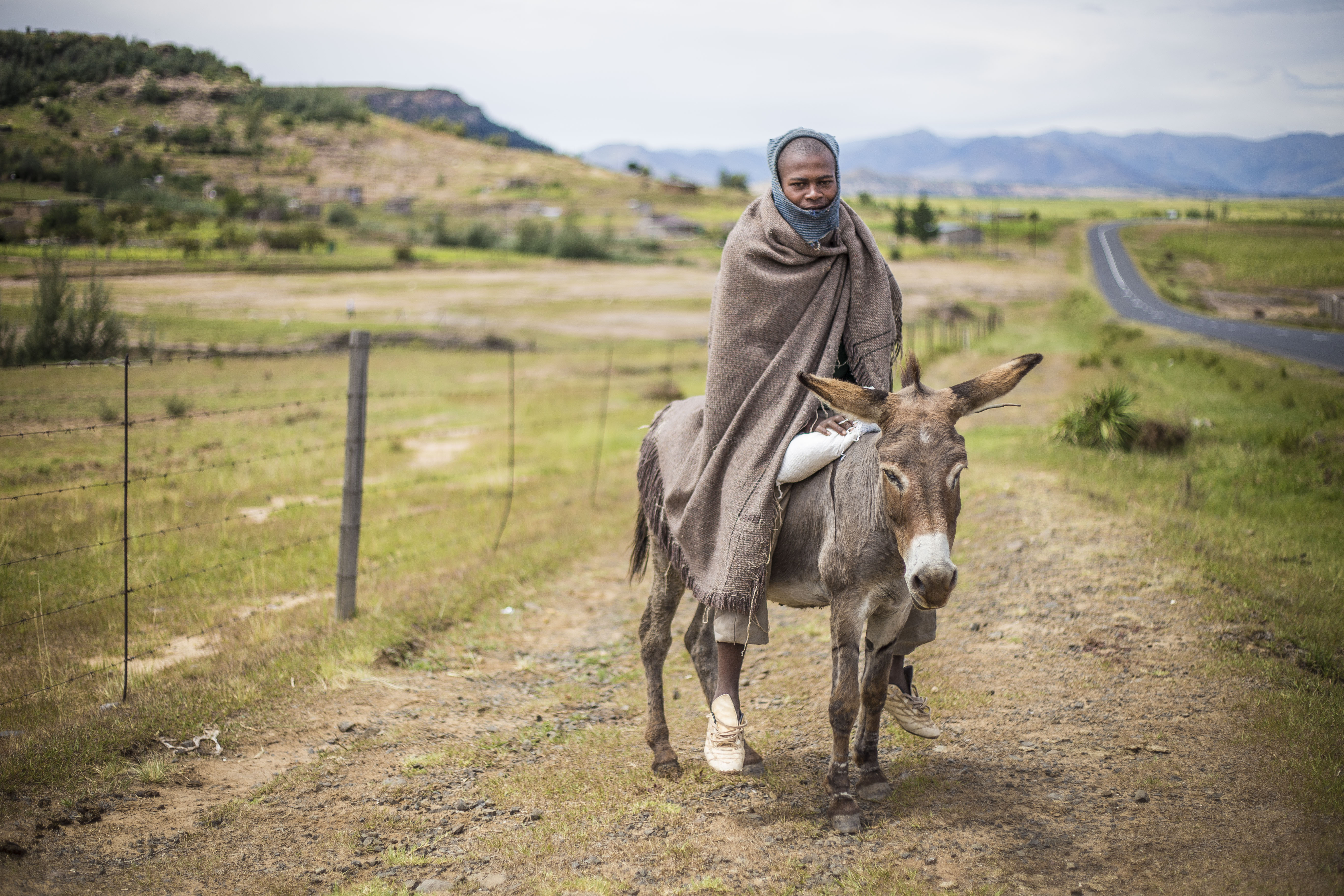 Help Lesotho donor trip