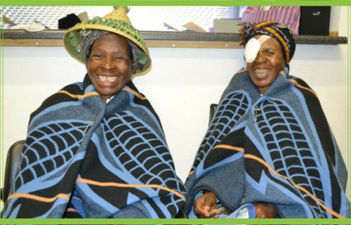 Eye surgery for grannies in Lesotho Girls Globe