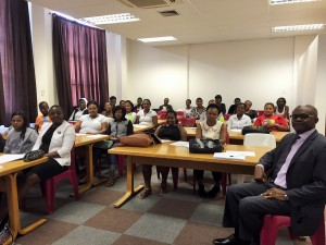 Lecture on Help Lesotho's psychosocial approach