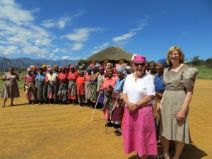 Trip to Lesotho to see grannies