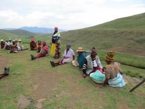 Help Lesotho grandmothers