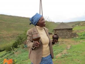 Granny in Lesotho