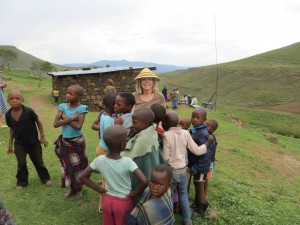 Trip to Lesotho to play with children