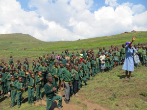 Primary school in Lesotho