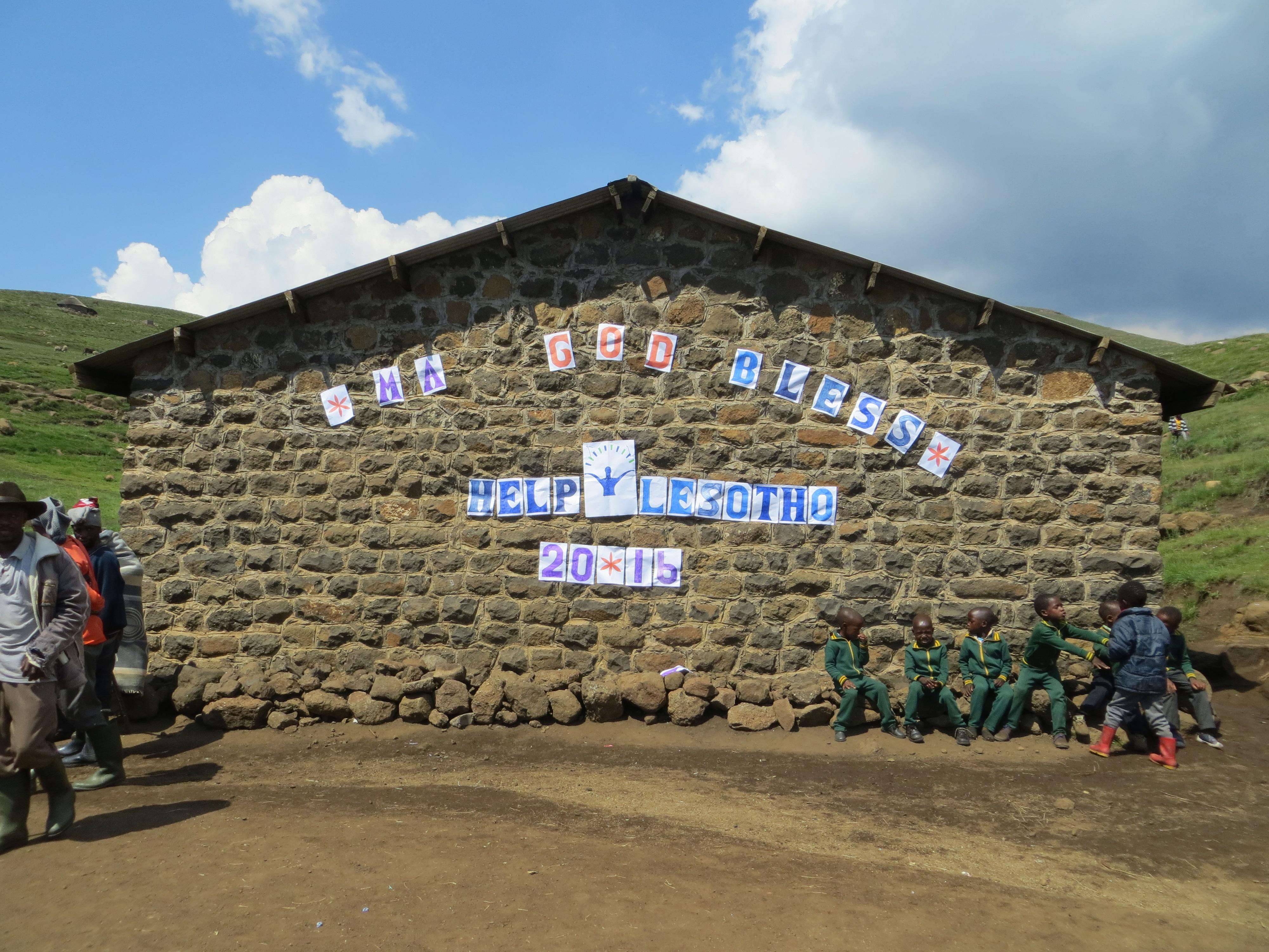 God Bless Help Lesotho 2016