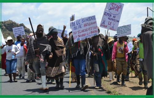 Marching for Change Girls Globe