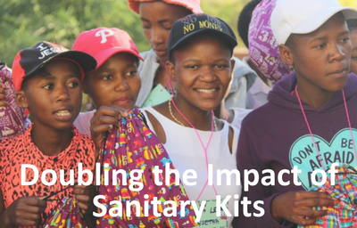 Doubling the Impact of Sanitary Kits