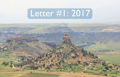 2017: Letters from Lesotho #1