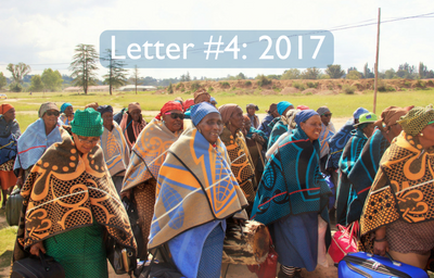 Peg's Letters from Lesotho 2017: #4
