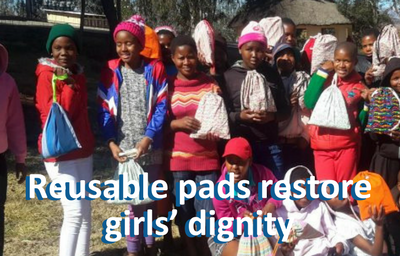 Reusable Pads Restore Girls' Dignity