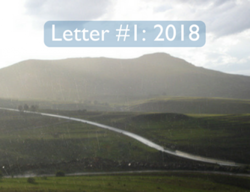 Peg's Letters from Lesotho 2018: #1
