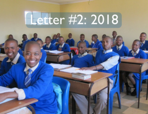 Peg's Letters from Lesotho 2018: #2