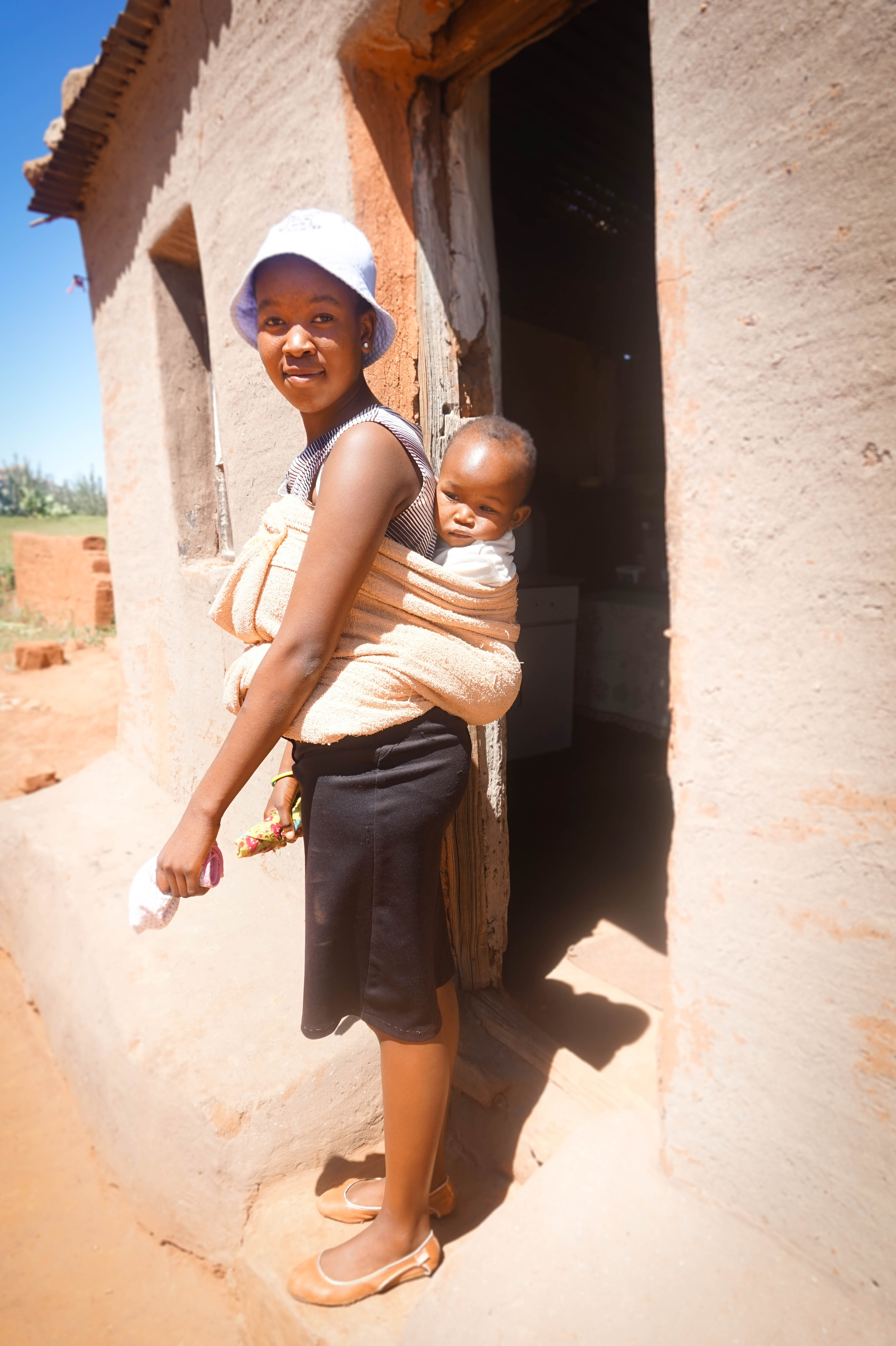 How To Tie A Basotho Baby Wrap Help Lesotho