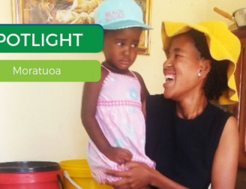 A $40 investment gives a young mother a brighter future